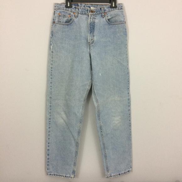 440c271b1654a Levi s Denim - Levis Womens Sz 12 560 Loose Fit Straight Leg Jean